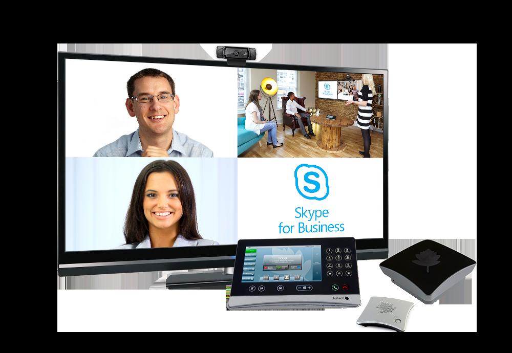 """Soluția """"StarLeaf Skype for Business Huddle Room"""""""