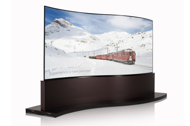 LG Dual view Curved Tiling OLED Signage 65EE5PC